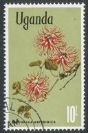 Uganda. 1969 Flowers. 10/- Used. SG 144a - Uganda (1962-...)