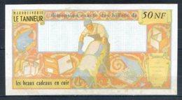 479-France Billet De 50NF Le Tanneur - Specimen