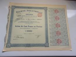 Société Industrielle De SMYRNE (1924) - Unclassified
