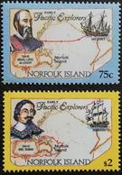 Norfolk Island  1994 Early Pacific Explorers - Norfolk Island