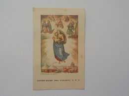 1938 Religion Catholique Image Pieuse Notre Dame Des Forains P.P.N.Coppin Goisse Ath - Religion & Esotérisme