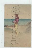 Llandilo Near Sydney(Australie, Nouvelle Galles Du Sud) : Original Watercolor Drawing Of A Sea En 1906 (lively) CP RARE. - Australie