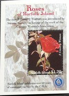 Norfolk Island 1999 Roses S/S - Norfolk Island