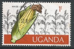 Uganda. 1975 Ugandan Crops. 1/- Used. SG 156 - Uganda (1962-...)