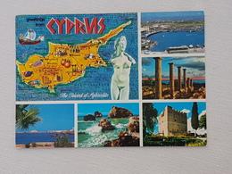 Zypern Mehrbildkarte (gelaufen; Ca. 1995); H17 - Zypern