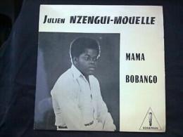 Julien Nzengui-Mouelle: Mama*Bobango/ 45 Tours Sonepran NT 10.006 - World Music