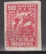 Indonesia Indonesie JAVA And MADOERA Nr. 39a Used ; Japanese Occupation Japanse Bezetting - Indonesië