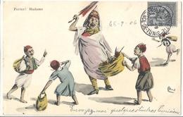CPA Tunisie Fantaisie Humoristique - Tunesië