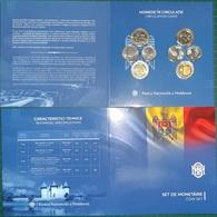 MOLDOVA  2019 Set Coins 2018 (8 Pcs) In Blister UNC - Moldova