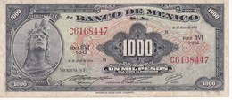 BILLETE DE MEXICO DE 1000 PESOS DEL AÑO 1973 (BANKNOTE) - México