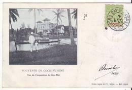 Cpa  Souvenir De Cochinchine  Vue De L'inspection De Can Thé - Viêt-Nam