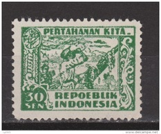 Indonesia Indonesie JAVA And MADOERA Nr. 32 MNH ; Japanese Occupation Japanse Bezetting - Indonesia