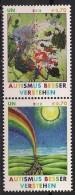 2012 UNO Wien Mi. 746-7**MNH  Autismus Besser Verstehen - Wien - Internationales Zentrum