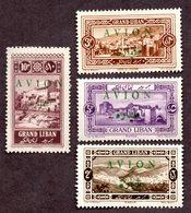 Grand Liban PA N°9/12 N** LUXE Cote 40 Euros !!!RARE - Grand Liban (1924-1945)
