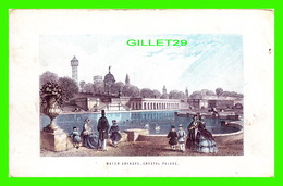 LITHOGRAPHIES - WATER ARCADES, CRYSTAL PALACE, LONDON - ANIMATED - DIMENSION 10 X 16.5 Cm - - Lithografieën