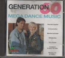 CD. GENERATION 60 - MEGA DANCE MUSIC - 26 Titres - Autres - Musique Française