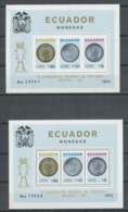 215 Football (Soccer) Allemagne 1974 Munich - Neuf ** MNH Equateur (ecuador) Mi BLOCK 65 A/B Cote 190 Non Dent - Fußball-Weltmeisterschaft
