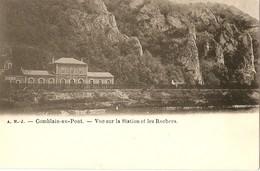 Comblain Au-Pont  --  Vue Sur La Station Et Les Rochers - Comblain-au-Pont