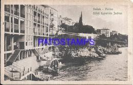 109842 CROATIA SUSAK HOTEL KUPALIŠTE JADRAN POSTAL POSTCARD - Croatie