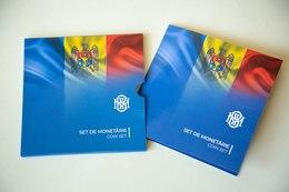 MOLDOVA  2019 Set Coins 2018 YEAR (8 Pcs) In Blister UNC - Moldova