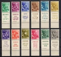 1955Israel119-130TRIBES7,00 € - Nuevos (con Tab)