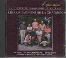 CD. LES COMPAGNONS DE LA CHANSON. 16 Titres - Chansons D'Auteurs - LA MAMMA - LES COMEDIENS - KALINKA - TELSTAR - - Autres - Musique Française