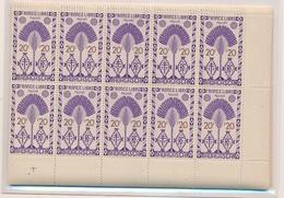CP-231: MADAGASCAR: Lot Avec  N°265/278**-290/297** En Blocs De 10 - Madagascar (1889-1960)