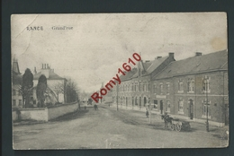 RANCE. (Sivry-Rance) Grand'rue. Jolie Carte, Attelage -  1914.  2 Scans. - Sivry-Rance