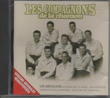 CD. LES COMPAGNONS DE LA CHANSON. Un Mexicain - Gondolier - Roméo - Le Galérien - Vénus - Tom Dooley  - 14 Titres - - Autres - Musique Française