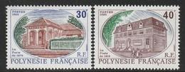 POLYNESIE - N° 322/3 ** (1988) - Neufs