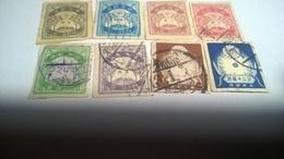 Japan 1923 Mi Jp 161-166, 168,169 - Used Stamps