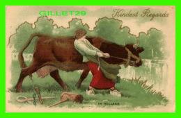 HUMOUR, COMICS - KINDEST REGARDS IN HOLLAND - BIG COW - - Humour