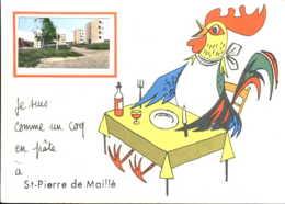 Saint Pierre De Maillé - Frankrijk