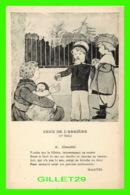 ENFANTS - CEUX DE L'ARRIÈRE, CHARITÉ PAR LA COLLECTION MARYEL - MAISON DE LA BONNE PRESSE - - Scènes & Paysages