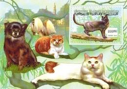 MDKH-BK1-026 MINT POSTFRIS ¤ MAURITANIE 2000 BLOCK ¤ CATS Of The WORLD LES CHATS DU MONDE KATZEN GATTI GATOS - Katten
