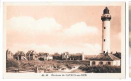 CPA.        ENVIRON DE CAYEUX SUR MER .. LE PHARE.. TBE.. SCAN - Cayeux Sur Mer