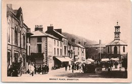 Market Place, Brampton, Cumbria - Cumberland/ Westmorland