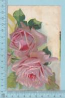 Carte Postale CPA - Roses - Used Voyagé En 1910 + USA Stamp, Cover Lisbon NH - Fleurs, Plantes & Arbres