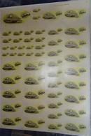 Rare Planche Chasse ,vénerie - Blaireau Décal France 1975 ( Très Grande Planche  63 X 88 Cm) - Estampes & Gravures