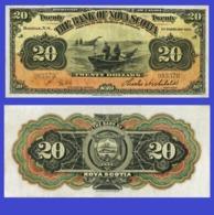 Bank Of Nova Scotia 20 Dollars 1918 - Canada
