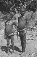 Afrique > GUINEE Enfants Bassari -(enfant Nu Nus Peumple Ethnie Ethnologie) (Editions : GIL 33) - Guinea