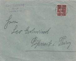 Deutsches Reich Memel Brief 1921 - Memel (Klaïpeda)