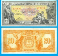 Canada  Toronto  20  Dollar 1935 - Canada