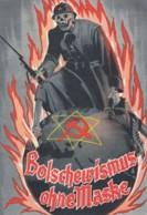 Deutsches Reich Postkarte Propaganda 1939 Bolsjewismus Ohne Maske - Gebraucht