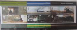 GREAT BRITAIN 2004 CLASSIC LOCOMOTIVES MINIATURE SHEET MS2423 UNMOUNTED MINT RAILWAYS TRAINS - Unused Stamps