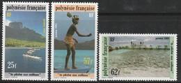 POLYNESIE - N° 390/2 ** (1991) La Pêche - Polynésie Française
