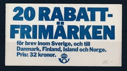ZWEDEN - Mi MH Nr 93 - MNH** - Cote 16,00 € - Carnets