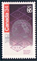 Canada Expo 86 Vancouver MNH ** Neuf SC (C10-92c) - Expositions Universelles