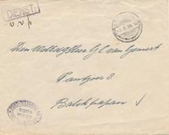 Nederlands Indië - 1935 - Dienstbrief Betreffende UIVER Crash - Inhoud: Mededeling Dat Geen Post Is Aangetroffen - Nederlands-Indië