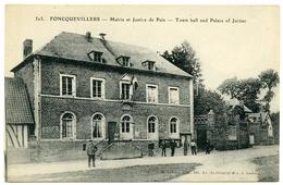 62 : FONCQUEVILLERS - MAIRIE ET JUSTICE DE PAIX - France